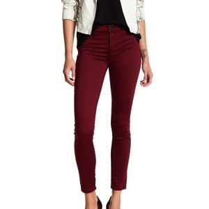 Hudson Super Skinny Ankle Jeans Midrise Nico 26
